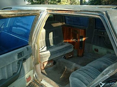 1986 Honda Accord limo interior