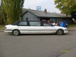 1986 Honda Accord limo