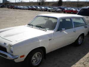 1972 Chevrolet Vega Kammback left