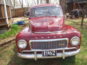 1962 Volvo 544 front