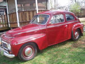 1962 Volvo 544 left