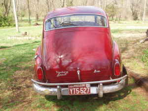 1962 Volvo 544 rear