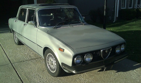 1974 Alfa Romeo Berlina right