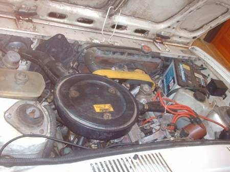 1979 Fiat Brava engine
