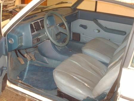 1979 Fiat Brava interior