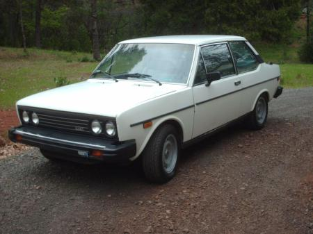 1979 Fiat Brava left