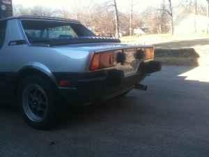 1984 Bertone X1/9 tail