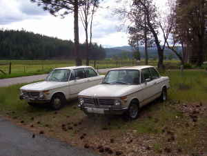 1972 BMW 2002 pair
