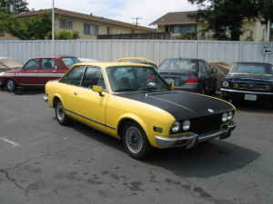 1973 Fiat 124 coupe right
