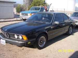 1980 BMW 633 CSi front