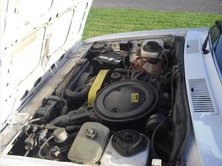 1980 Fiat Brava engine