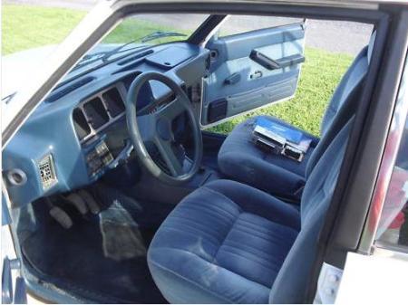 1980 Fiat Brava interior