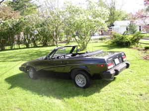 1980 Triumph TR7 left