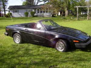 1980 Triumph TR7 right