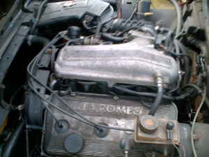 1982 Alfa Romeo GTV6 engine