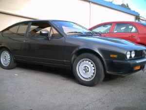 1982 Alfa Romeo GTV6 right