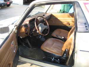 1978 Subaru Brat interior