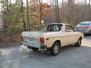 1978 Subaru Brat rear