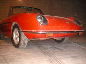 1967 Fiat 850 spider front