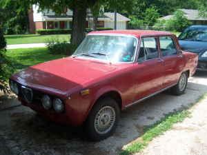 1974 Alfa Romeo Berlina front