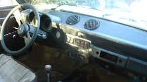 1976 Fiat 128 3P dash