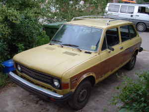 1976 Fiat 128 wagon front