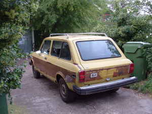 1976 Fiat 128 wagon rear
