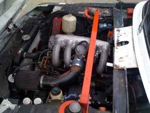 1973 BMW 2002 tii engine