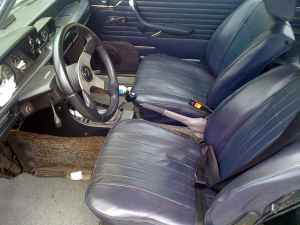 1973 BMW 2002 tii interior