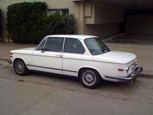 1973 BMW 2002 tii rear