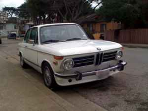 1973 BMW 2002 tii front