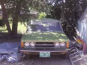 1974 Fiat 124 Special TC front