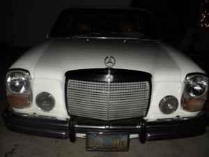 1973 Mercedes 280C nose