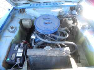 1974 Ford Capri engine