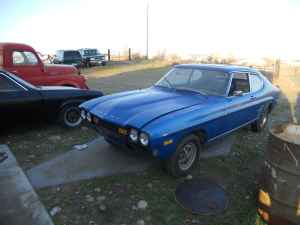 1974 Ford Capri left front