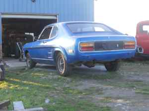 1974 Ford Capri left rear