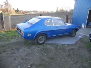 Ford Capri right rear