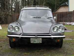 1966 Citroen DS wagon front