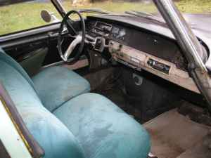 1966 Citroen DS wagon interior