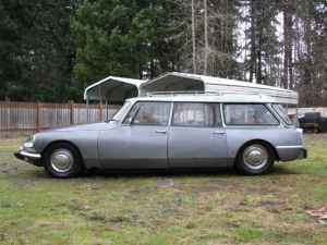 1966 Citroen DS wagon left