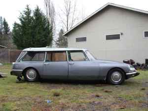 1966 Citroen DS wagon right