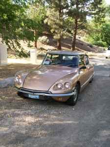 1971 Citroen DS 21 front