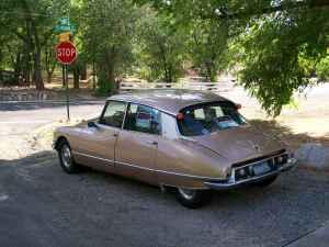 1971 Citroen DS 21 rear