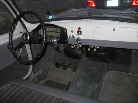 1959 Fiat Millecento interior