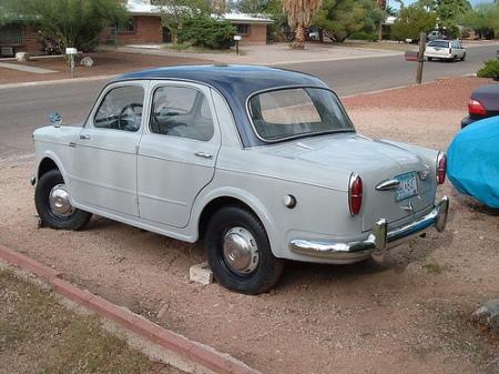 1959 Fiat Millecento left