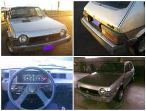 1981 Fiat Strada four square