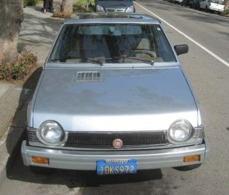 1981 Fiat Strada nose