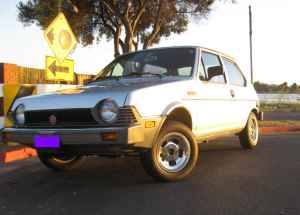 1981 Fiat Strada left front