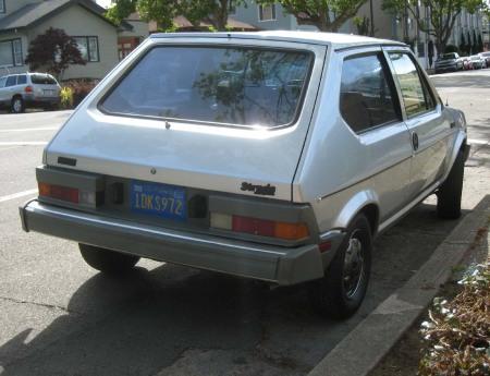 1981 Fiat Strada rear