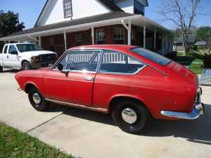 1967 Fiat 850 coupe left